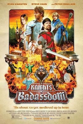 Knights Of Badassdom 2013 DVD R2 PAL Spanish