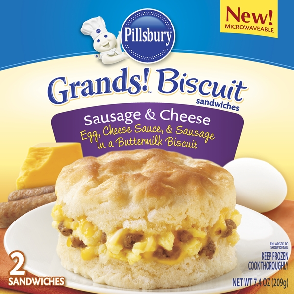 ... Grands!® Biscuit Sandwiches and Pillsbury Egg Scrambles™ [Giveaway
