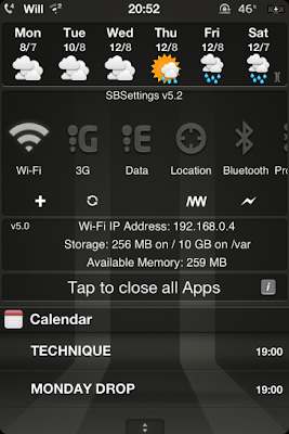 iOS5 NC weather widgets