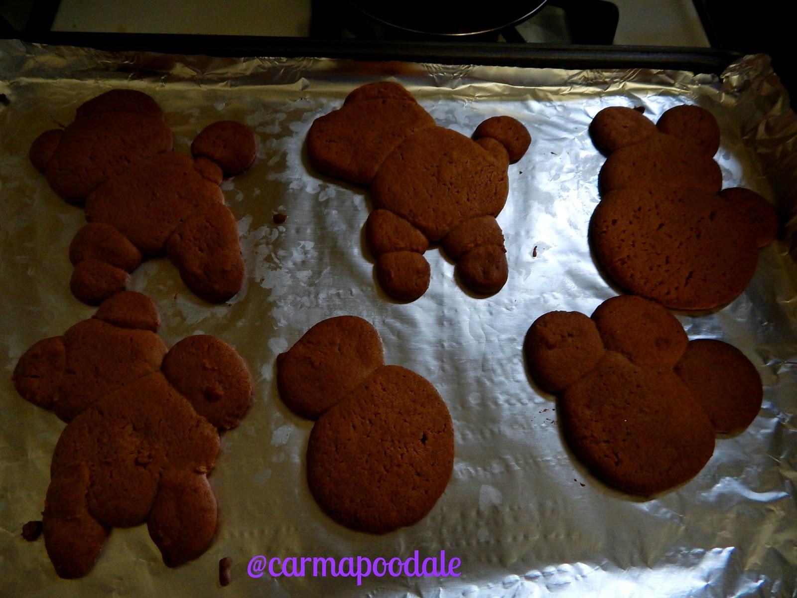 golden brown cookies