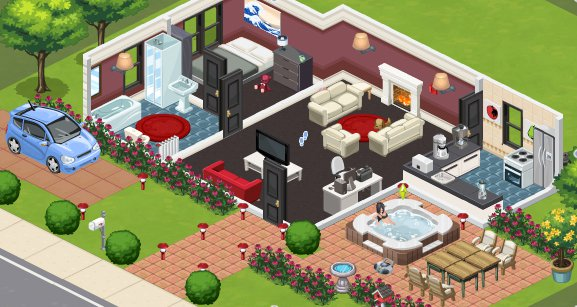 game The Sims Social Facebook