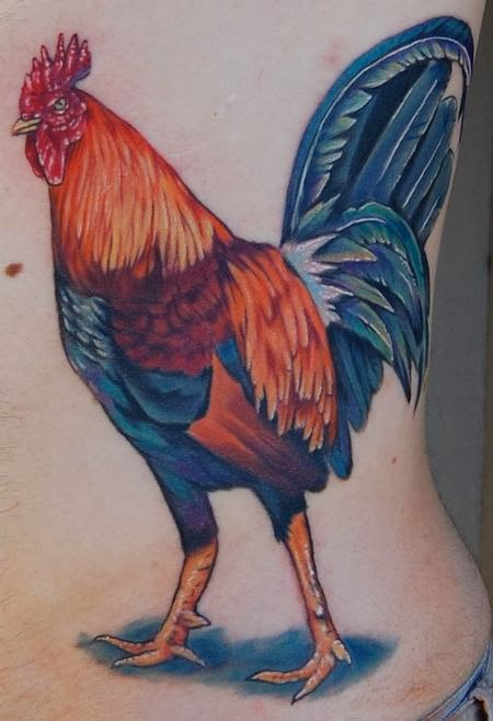 Rooster Tattoo - Tatuagem de Galo