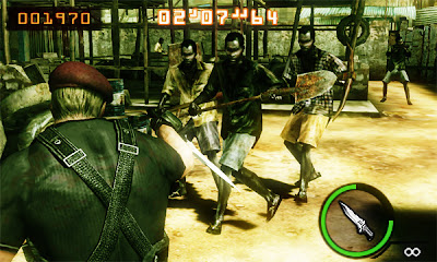 Resident Evil Mercenaries 3DS Screenshot