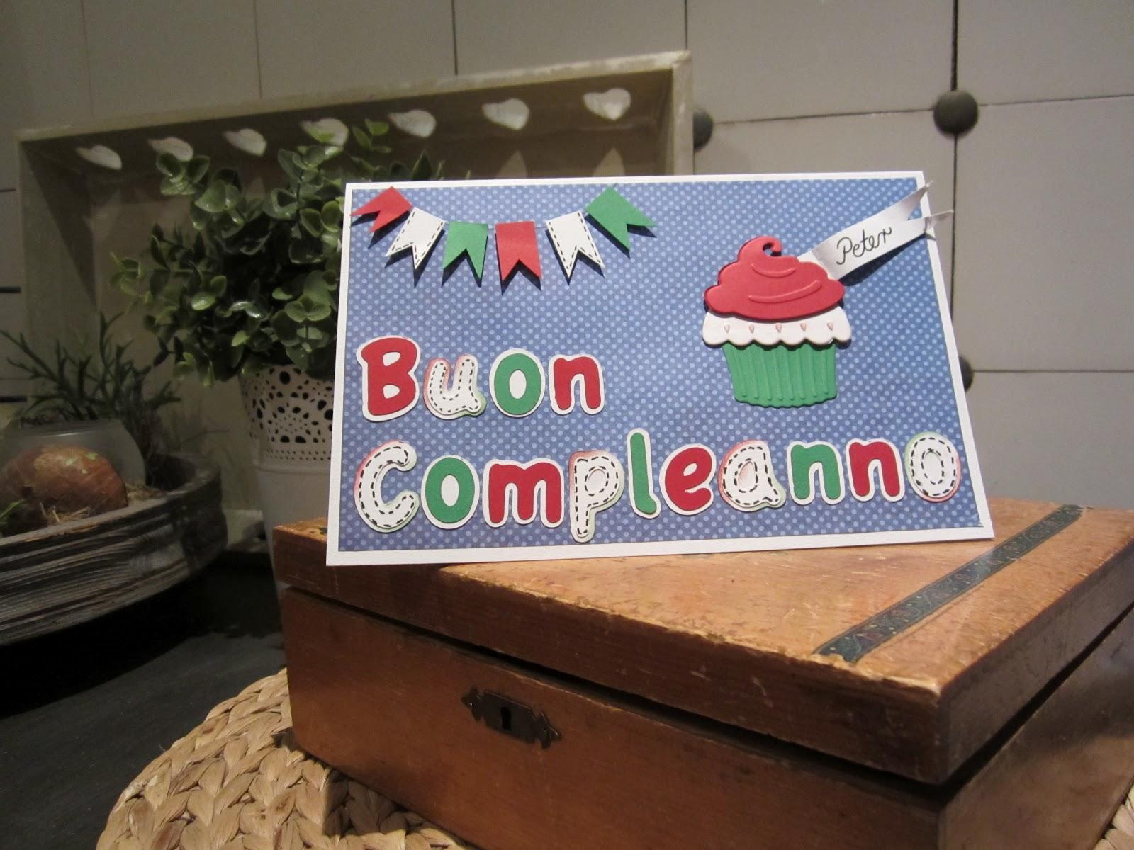 Happyscrap by Kerstin: Italienischer Geburtstag