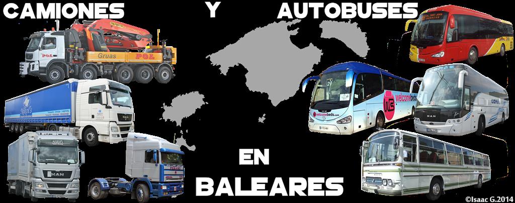 Camiones y Autobuses en Baleares