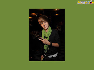 Justin bieber green pictures