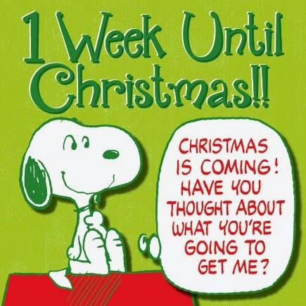 25 days of christmas and only 1 week left - What Day Of The Week Is Christmas On