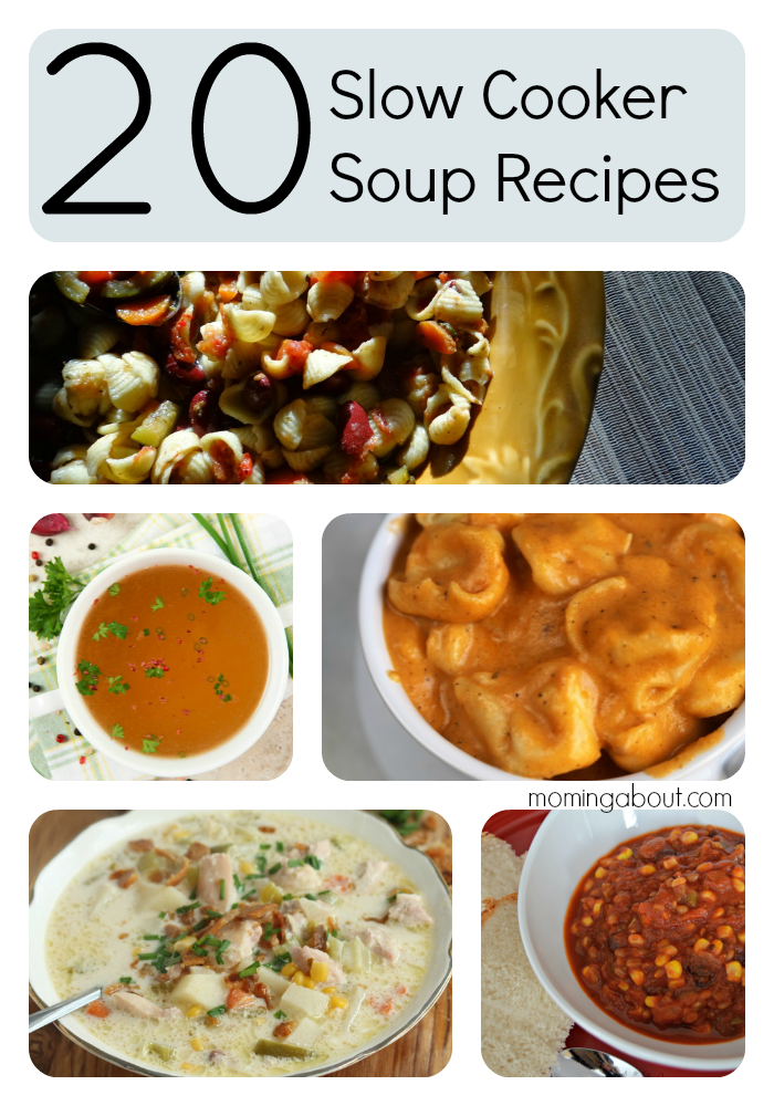 20 Slow Cooker Crock Pot Soup Recipes