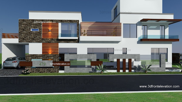 500 Square Yards House Designs