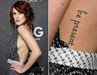 Rumer Willis Tattoo Ideas for Girls - Rumer Willis Tattoo design Photo gallery