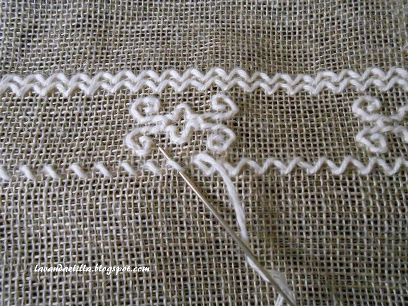 Lavanda e lill maggio 2014 for Nodo invisibile per unire due fili di lana