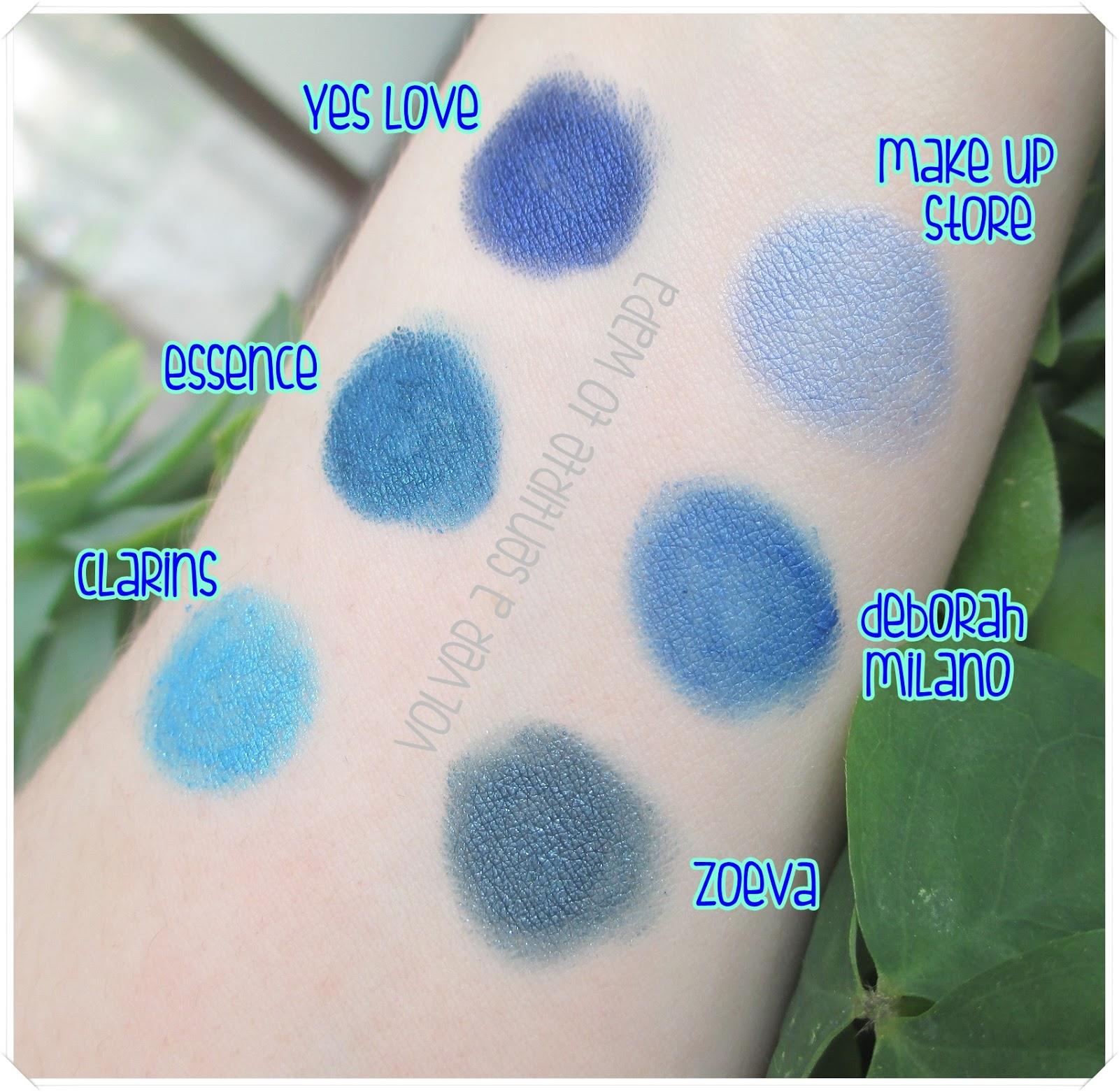 FAVORITOS: Lápices de ojos en tonos azules