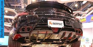 Mercedes sls exhaust - صور شكمان مرسيدس sls