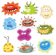 3 these are all different kinds of germs germs are all different from one another and there are thousands and millions of kinds