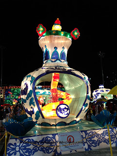 Snake lantern, in the Float in 2013 Chinese New Year, Singapore