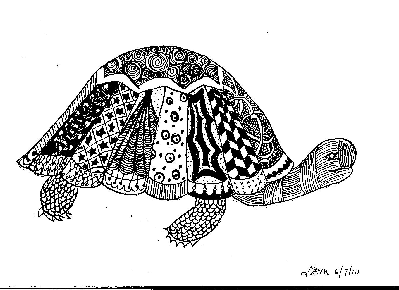 Gallery For gt Simple Zentangle Animal