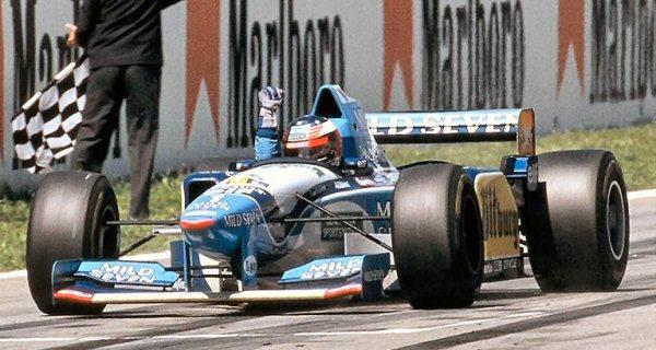 GP da Espanha de Formula 1, Catalunha em 1995 - gpexpertacontecimentos.blogspot.com