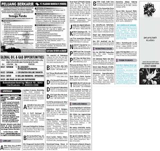 Lowongan kerja koran kompas Jumat 22 Maret 2013
