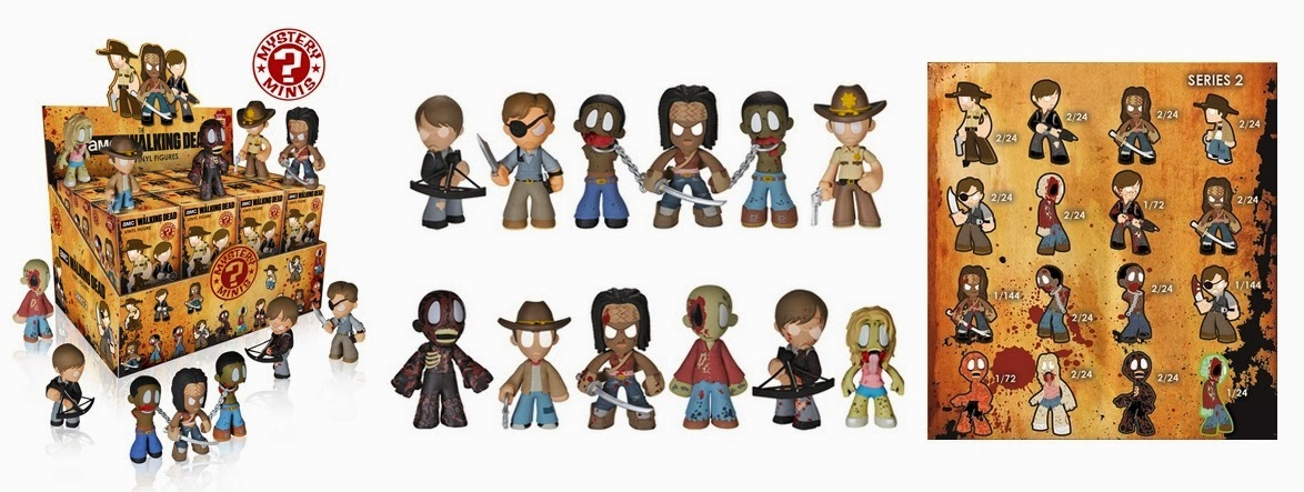 The Walking Dead Mystery Minis Serie 2 (Funko)