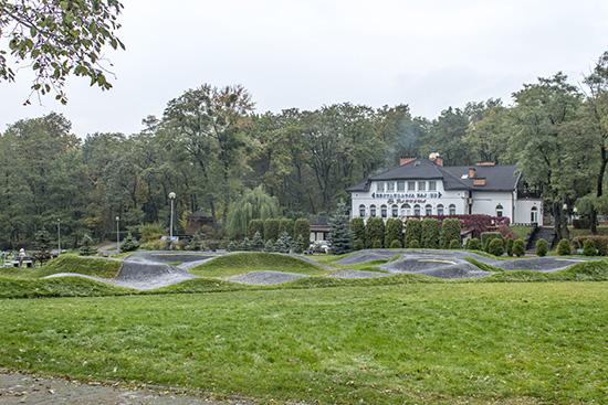 Park Miejski Strzelnica w Rudzie Śląskiej