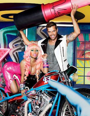 Nicki Minaj et Ricky Martin pour M.A.C AIDS Fund VIVA GLAM