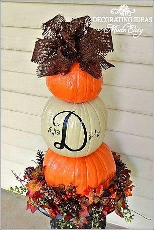 Festive Pumpkin Decorating Ideas
