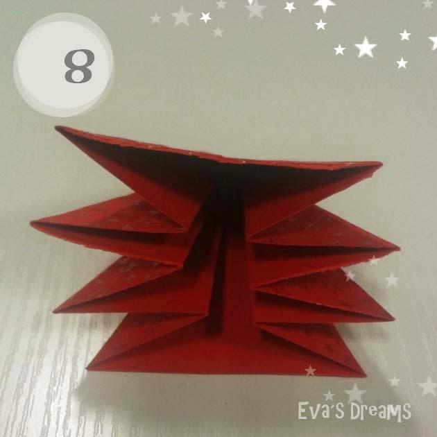 DIY: Origami Tannbaum 2.0 - Step8