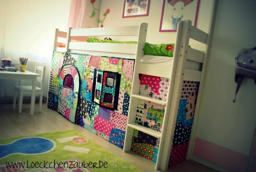 Vorhang Etagenbett Selber Nähen : Vorhang hochbett nähen anleitung u zuhause image idee