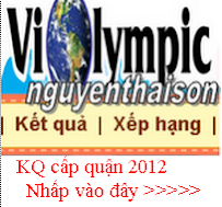 KQ cấp QUẬN 2012