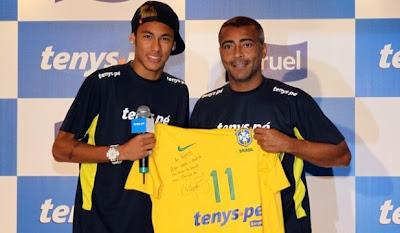 """Neymar explicó por qué usa el número """"11"""""""