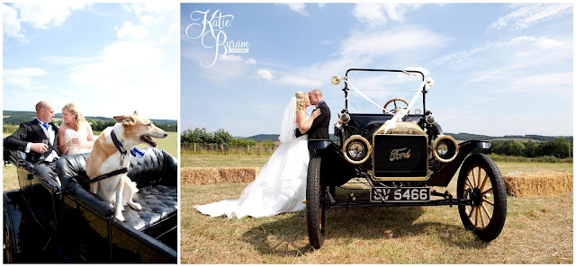 ford model t, classic wedding car, whitley chapel, st helens church wedding, whitley chapel wedding, curly farmer, katie byram photographer, one digital image, northumberland wedding photographer, wedding wellies, wedding jewellery