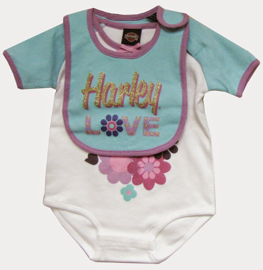 http://www.adventureharley.com/harley-davidson-infant-girls-creeper-w-bib