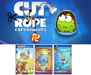 Cut The Rope Experiments HD .Apk 1.1.6 Android [Full] [Gratis]