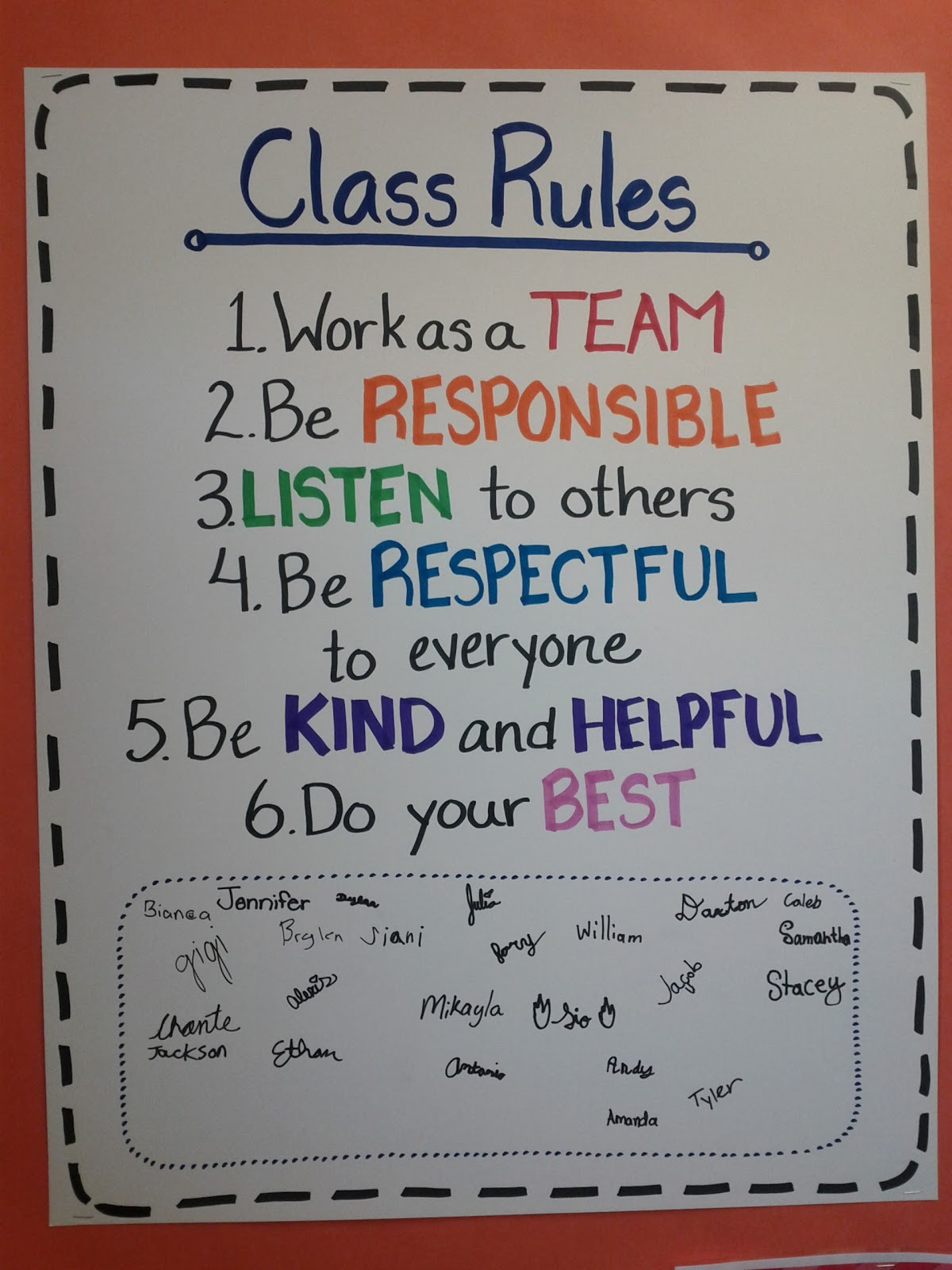 Elementary Classroom Rules ~ Upper grades are awesome day two class rules and time