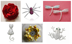 ♥ all kinds of brooches and pins