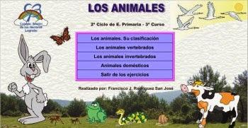 Jugamos con el tema de los animales