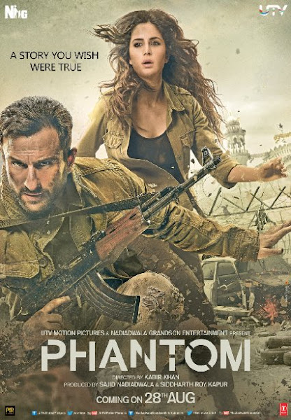 Poster of Phantom 2015 720p BRRip Hindi 5.1Ch