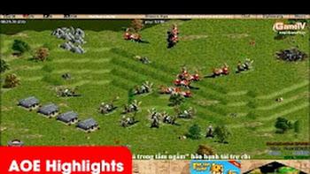 AOE Highlights – Kinh hoàng khi Gunny cầm chém tuyển Palmyran