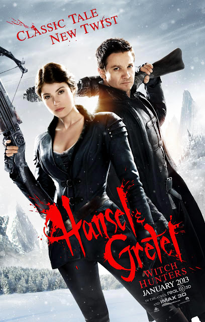 Hansel and Fretel Witch Hunters Movie Poster