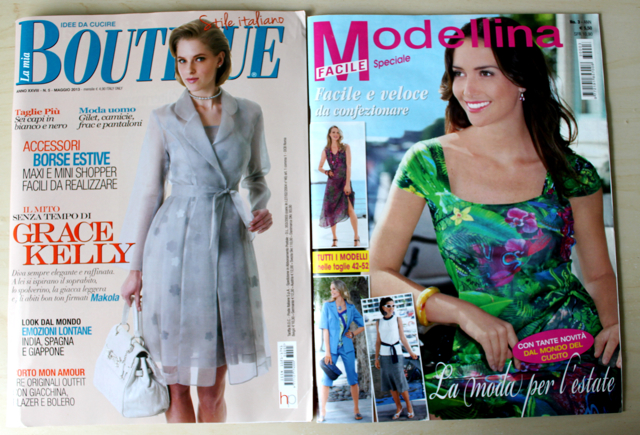 Cation Designs A Look Through Italian Sewing Magazines