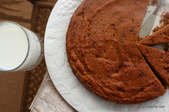 A big grain-free Chocolate Chip Cookie that's a cake