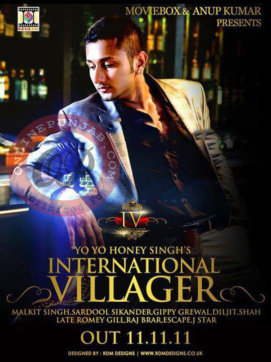 Download International Villager 2011 of honey singh MP3 Songs