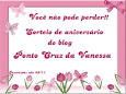 "Sorteio do Blog""Ponto Cruz de Vanessa"""