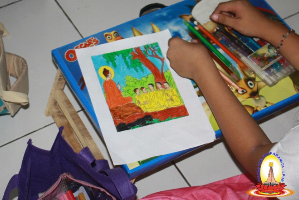 Vihara Prajnaparamita Lpub Lomba Menggambar Mewarnai Sekolah Mengadakan Berbagai Macam