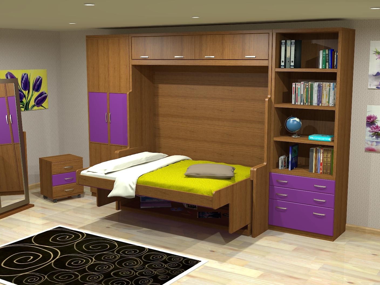 Muebles juveniles dormitorios infantiles y habitaciones - Habitaciones infantiles pequenos espacios ...