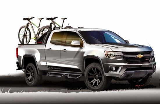 Highlights of the 2015 Chevy Colorado Sport Concept