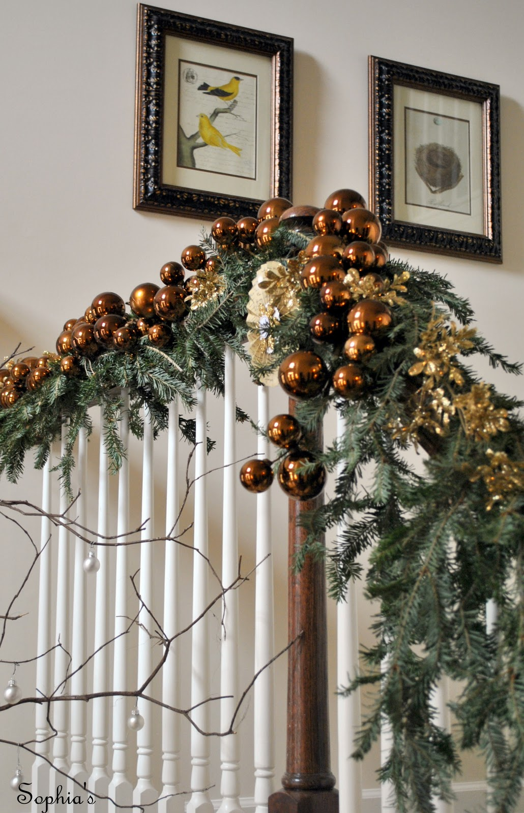 Sophias Christmas Stairs