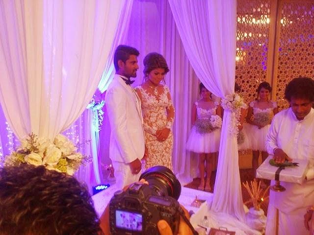 sl cricketer wedding