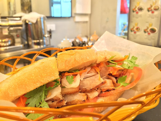 Tonkin Vietnamese Noodle Bar - Banh Mi Pate Grilled Chicken
