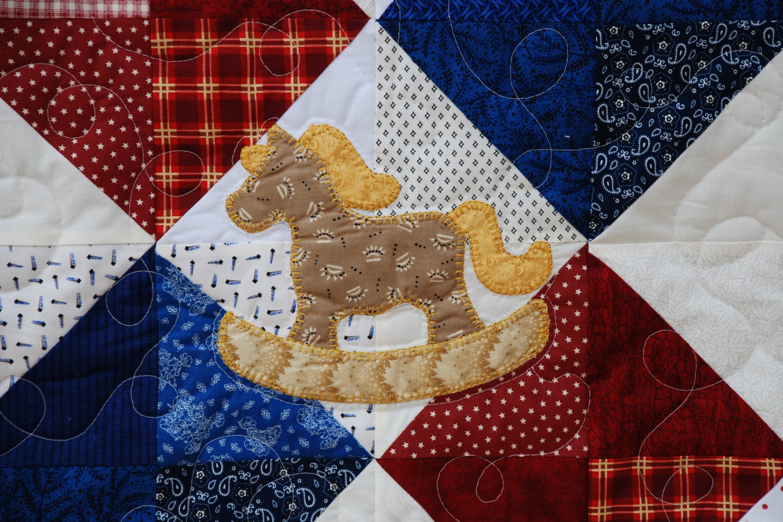 Rocking Horse Quilt Pattern Free Cafca Info For